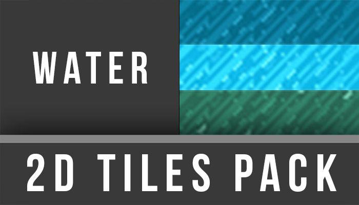 2D TilesPack - Water