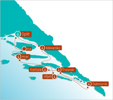 Balkan Escape | Dalmatia Discovery Cruise