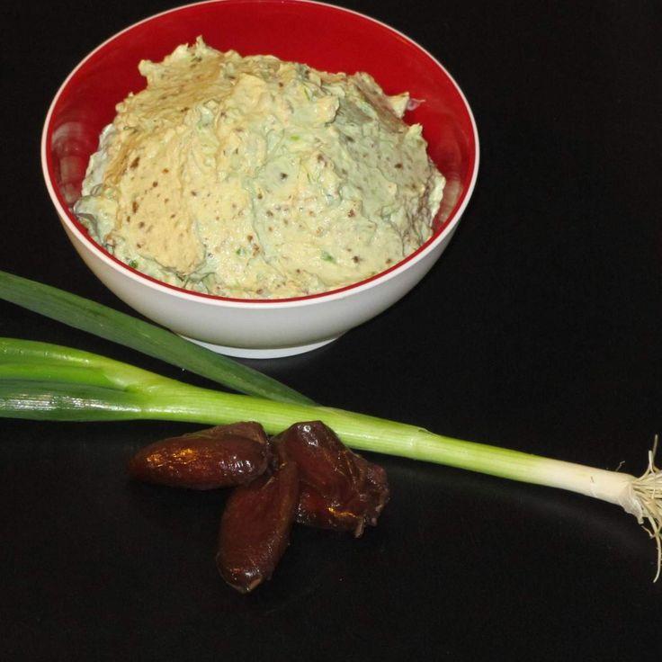 Dattel-Frischkäse-Dip