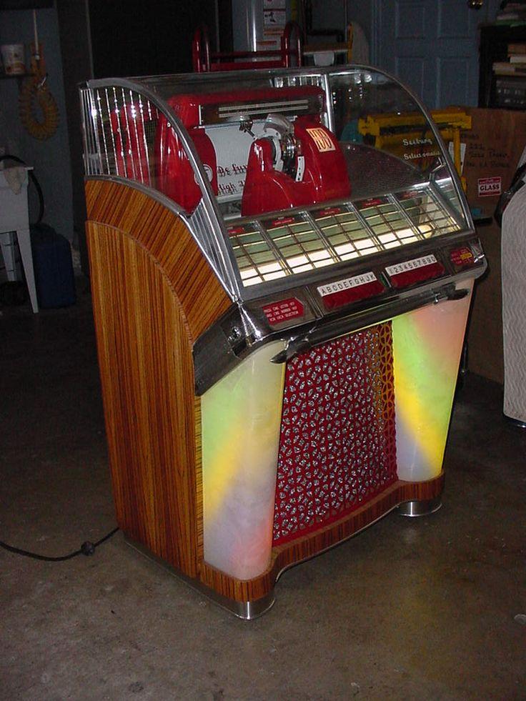 Zebrawood Wood Veneer Jukebox Restored By Zuddies