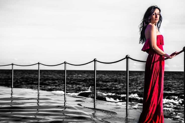 Photo shoot with Mary at Bronte Beach, Sydney