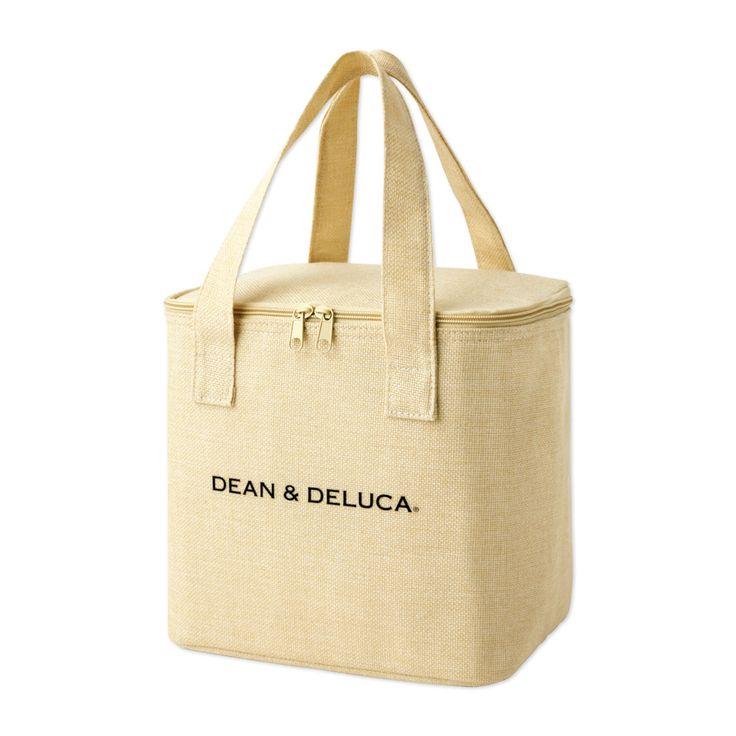 『GLOW』雑誌付録 DEAN&DELUCAのリネン風保冷バッグ