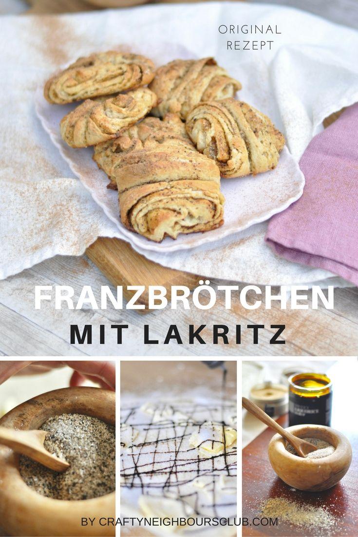 Franzbrötchen mit Lakritz. Eine köstliche Kombination. Unser Rezept auf dem Blog.