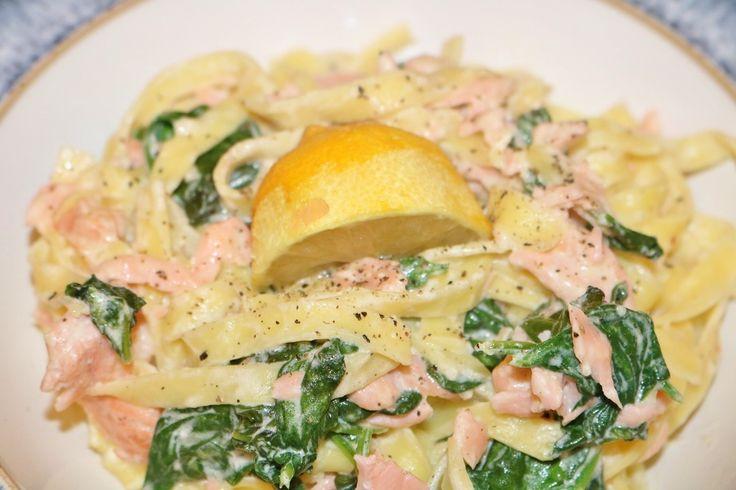 Salmon Tagliatelle Recipe - Powered by @ultimaterecipe