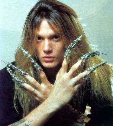 Sebastian Philip Bierk (born April 3, 1968), known professionally as Sebastian Bach, is a Canadian heavy metal singer who achieved mainstream success as frontman of Skid Row from 1987 to 1996.