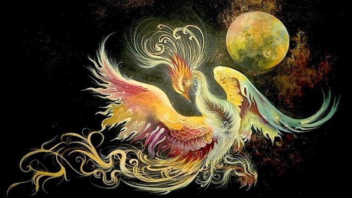 mythical-bird-Simurgh