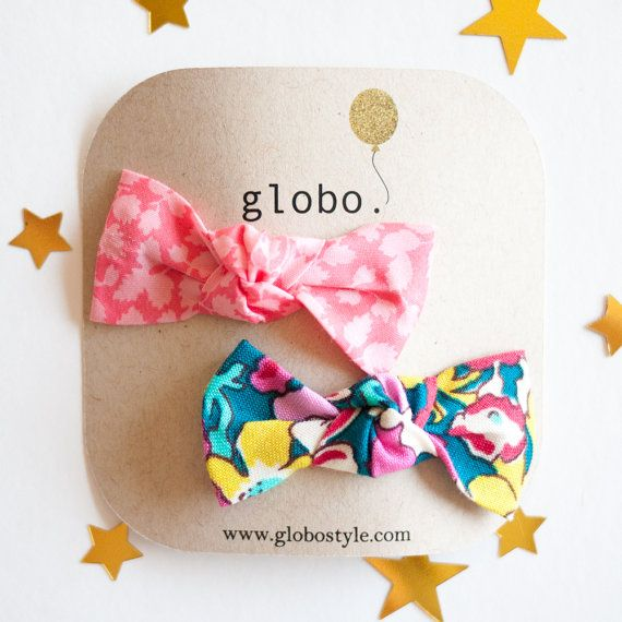 Liberty of London Hair Clips for Little Girl and Baby by globoMINI