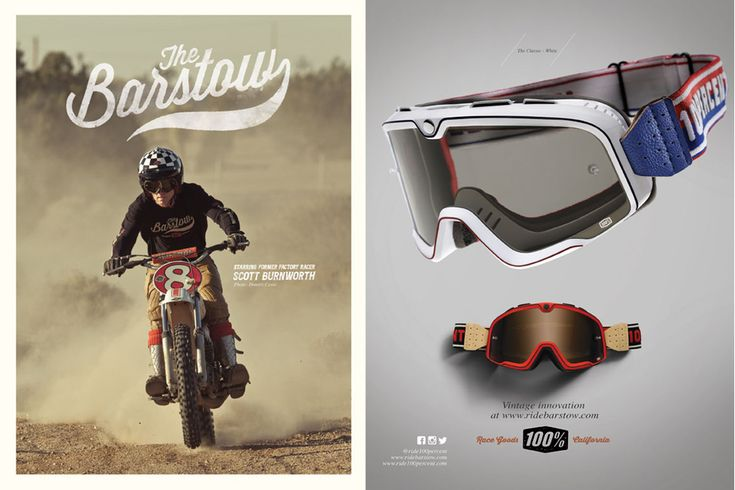 Masques Ride 100% Barstow... Mxtotal.com