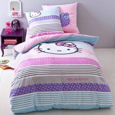 Adornment duvet cover bed + 1 pillowcase HELLO KITTY AMAYA
