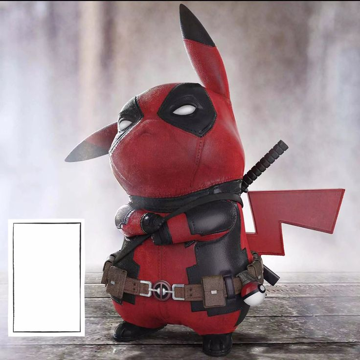 13cm Anime Deadpool Pikachu model Pokeball Model cute decoration for kids Figures Collectible Toys christmas gift toys #Affiliate