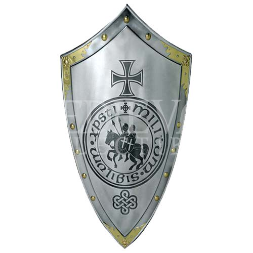 templar knight steel shield by marto ma9651s by