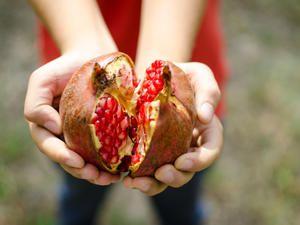 """Tip: Granatapfel öffnen – ohne """"Blutvergießen"""""""