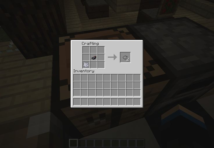 Gray Dye - 1 Bone Meal and 1 Ink Sac makes 2 Gray Dyes
