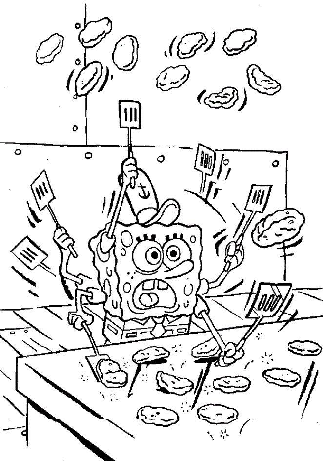 85 best Sponge Bob Square Pants images on Pinterest | Colorear ...
