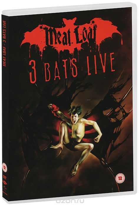 Meat Loaf: 3 Bats Live (2 DVD)