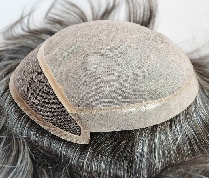 Men's toupees hairpieces Gray Hair Wigs Austrilia #Toupee #MensToupee #MensWigs #WigsForMen