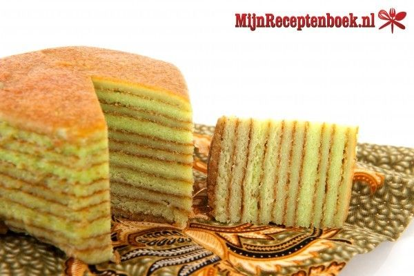 Indonesische spekkoek recept