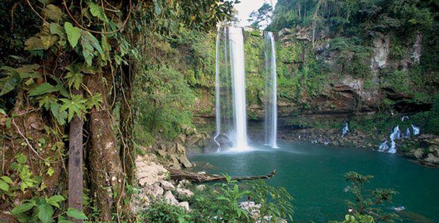 Cascada de Misol-Ha, una de las más bellas de Chiapas. / Foto: Alfredo Martínez Fernández