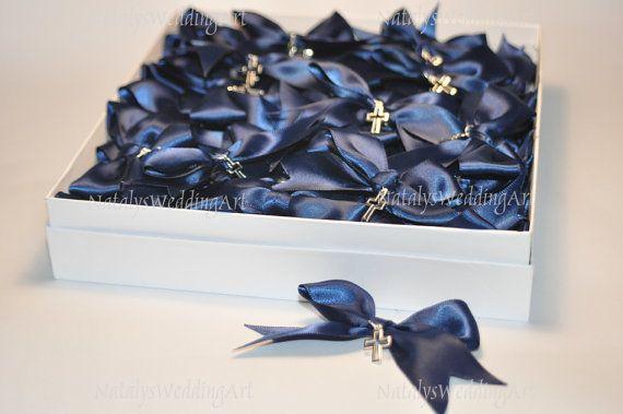 Greek Wedding Shop - Navy Blue Martirika Witness Pins. Witness Pins for your godchild's baptism ceremony (http://www.greekweddingshop.com/navy-blue-martirika-witness-pins/)
