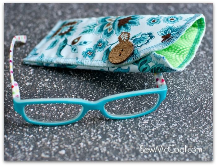 DIY glasses case tutorial - Sew McCool