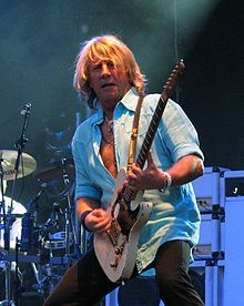 "Richard John ""Rick"" Parfitt, OBE (12 October 1948 – 24 December 2016) was an English musician, best known for being a singer, songwriter and rhythm guitarist in the rock band Status Quo. Parfitt died in hospital at lunchtime on 24 December 2016 from septicaemia, after being admitted the previous day, following complications to a shoulder injury, his manager and family said in a statement."