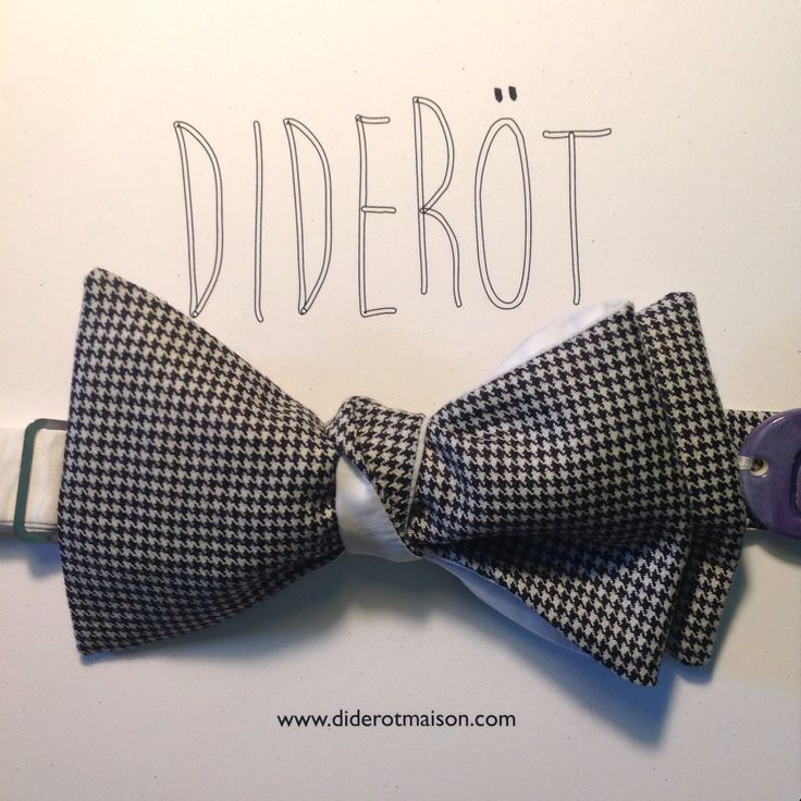 Diderotmaison bow tie - noeud papillon -DA9