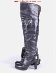 botas negras mujer altas