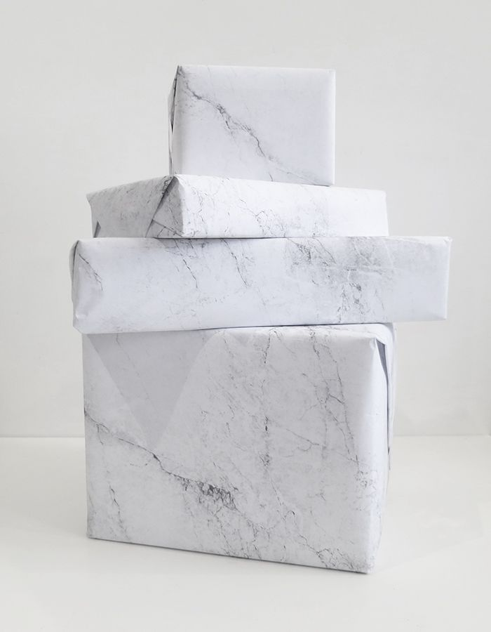 karien anne - packaging - marble wrapping paper