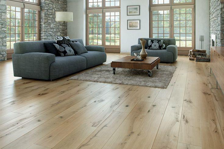 Barlinek Vintage Engineered European Oak Flooring Ivory Grande