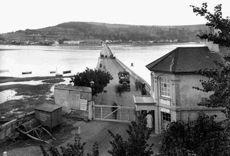 Shaldon Bridge 1922, Teignmouth