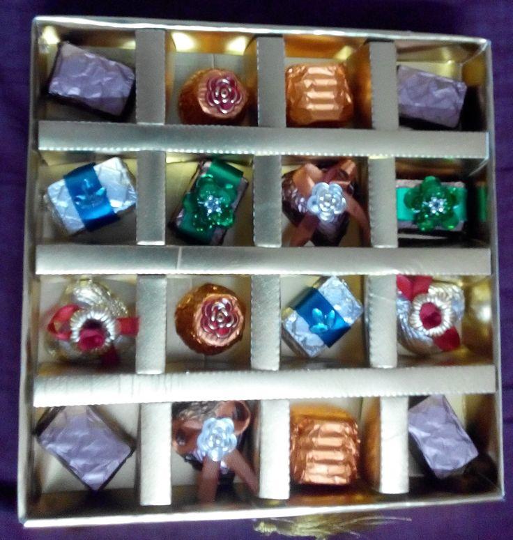 #assorted #chocolates #box #designer #wrapping