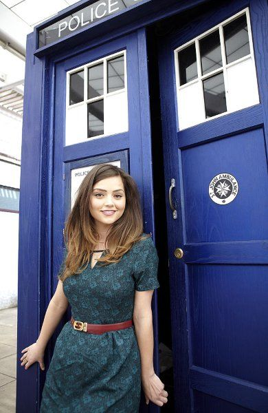Jenna-Louise Coleman as the new companion
