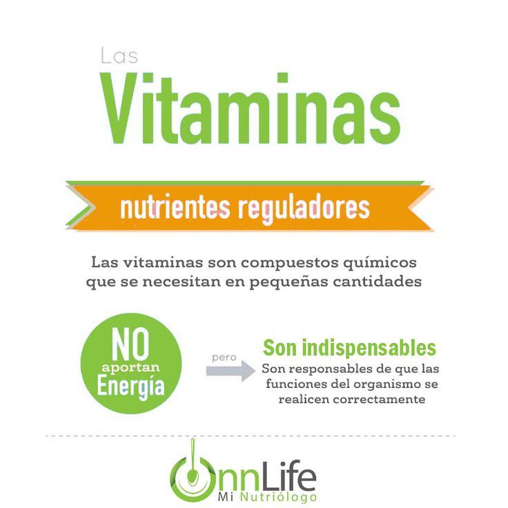 ¿Por qué las vitaminas son INDISPENSABLES para nuestro cuerpo aunque no aporten ENERGÍA?  Las vitaminas funcionan como combustible para que cada partícula de nuestra anatomía funcione a toda marcha. Si bien no aportan energía directamente, sí que estimulan al organismo a que nos otorgue la vigorosidad necesaria  #Salud#Bienestar#Vidasana#Vidasaludable#Nutricion#Mexico