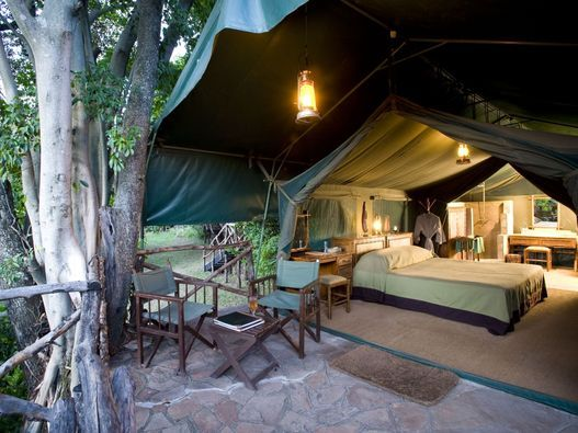 Classic safari tent at Kichwa Tembo Masai Mara Tented Camp - Kenya    #contests #depositagift #travel