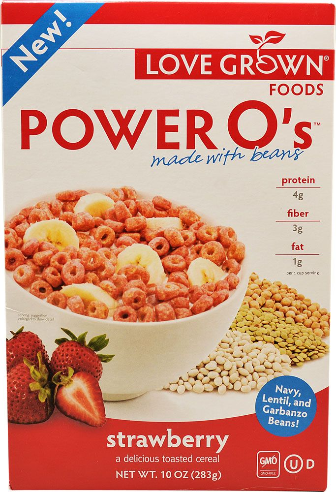 Love Grown Foods Power O's™ Cereal Strawberry - tastes like Frankenberry cereal :) (cheaper on Amazon)