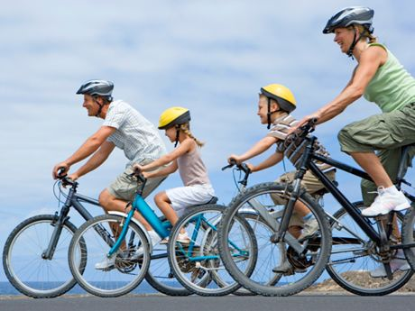 How to Plan a Family Biking Vacation! Healthy families....Fun vacations!!!