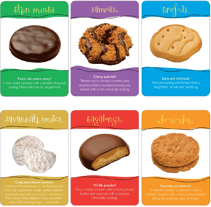 You're Getting Different Girl Scout Cookies