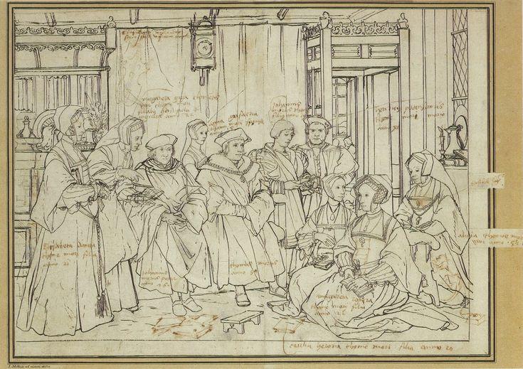 Η οικογένεια του Τόμας Μορ (1527)