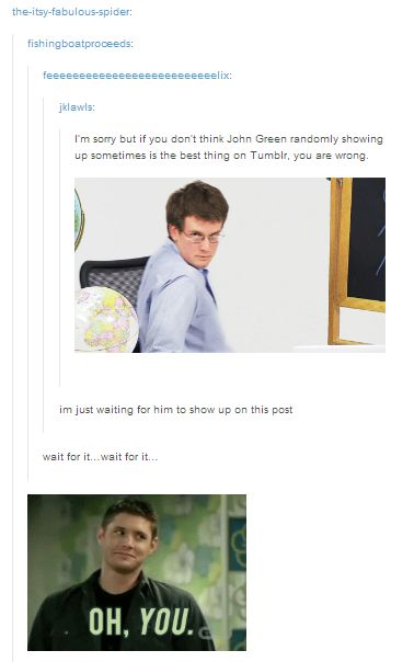 "from the ""make john green find the thing""/i-swear-to-god-he's-really-a-new-york-times-best-selling-author tumblr masterpost (click for more, btw)"