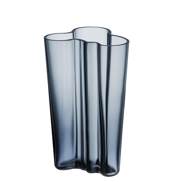 Alvar+Aalto+Vase+201+mm,+Regn,+Iittala