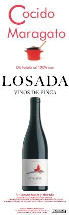 Cocido maragato con Losada, mencía, red wine from Bierzo