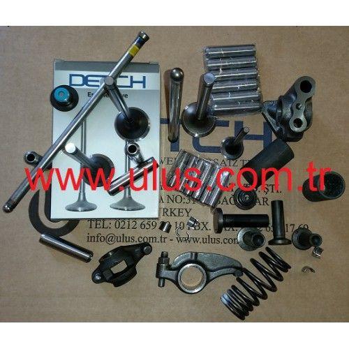 897209876351 Exhaust valve Isuzu 4HK1 motor eksoz supap
