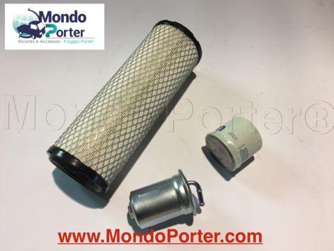 filtri piaggio porter - Filtro Aria simile al codice originale Piaggio B005660  - Filtro Olio simile al codice originale Piaggio 438038  - Filtro Benzina  simile al codice originale Piaggio 2330087507000