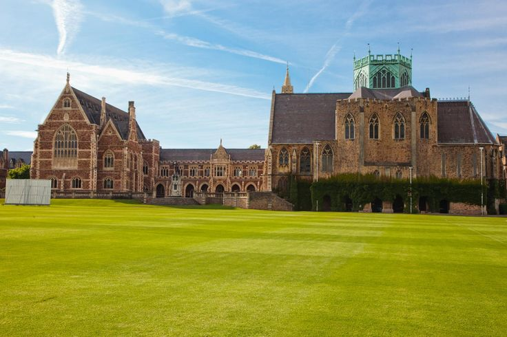 Clifton College, Bristol, offers a spectacular gothic background in the heart of Bristol's finest postcode. The interior of the chapel is a spectacular setting within which to say your vows.