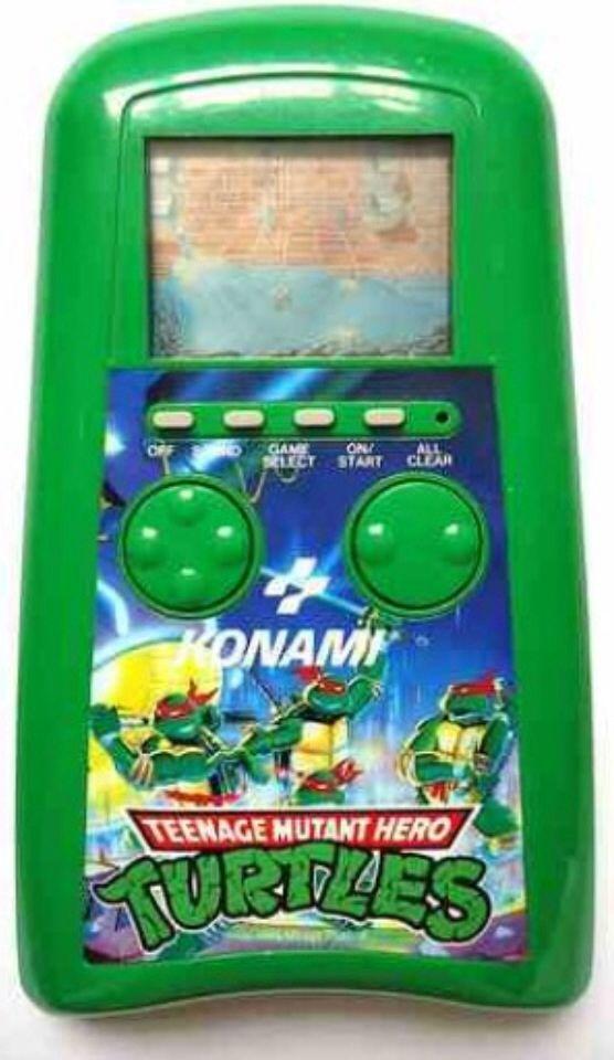 Konami TMNT Handheld Game