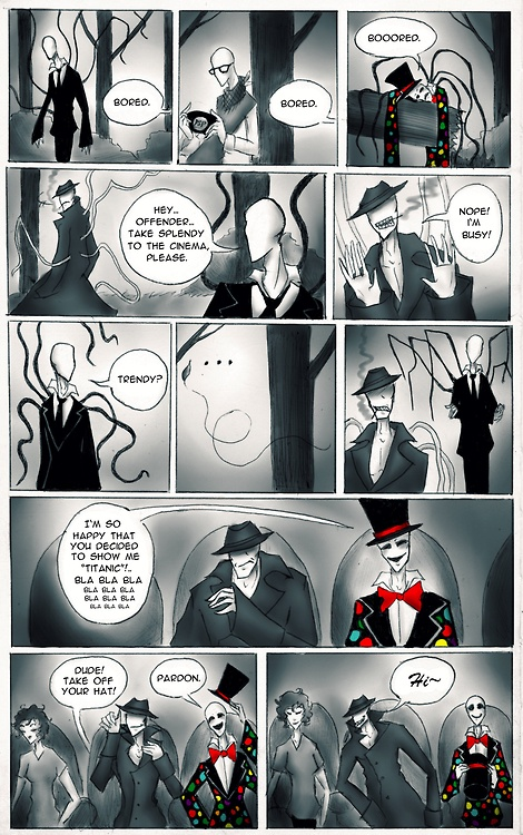 The slender family | Slenderman | Pinterest | The o'jays ...