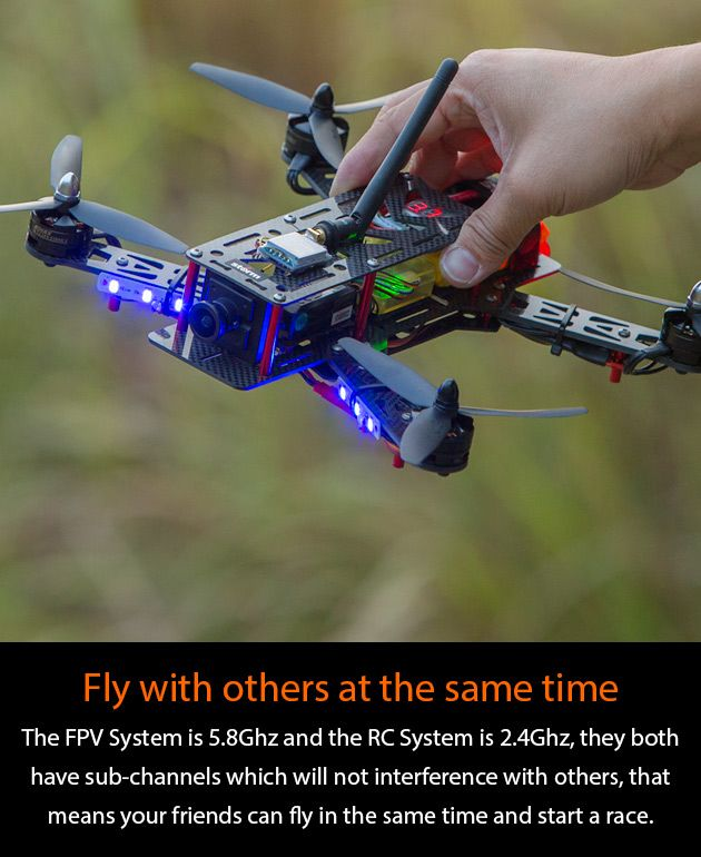 Race with others is the soul of Storm Racing Drone! http://www.helipal.com/storm-racing-drone-rtf-type-a.html #QAV250