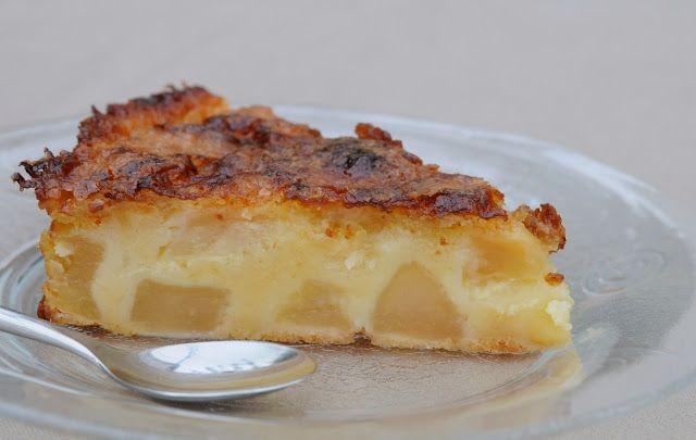 """Moelleux aux pommes - recette d'un livre Thermomix """"50 recettes de famille"""""""