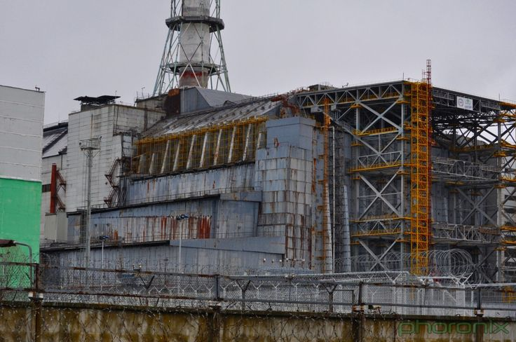 The sarcophagus of Chernobyl Reactor #4 has fallen into a state of disrepair and in the coming years will be covered by the New Safe Confinement, a project that's going to cost more than $1 billion USD.
