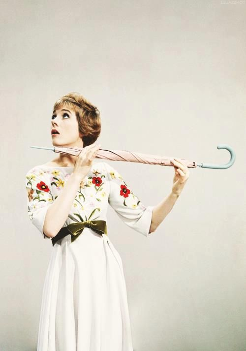 Julie Andrews. Love her so much!